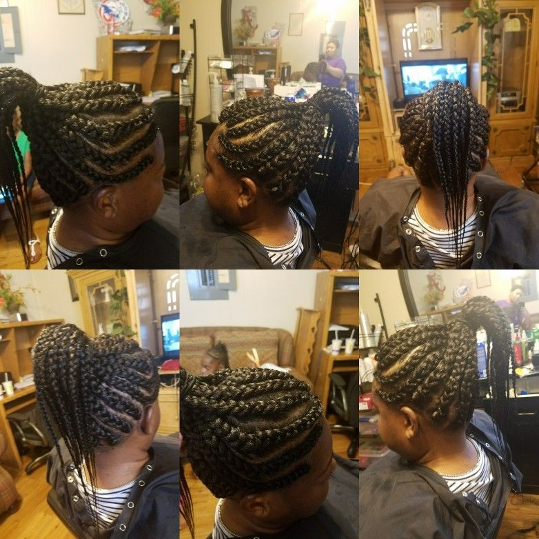 Dipping Synthetic Braids In Hot Water